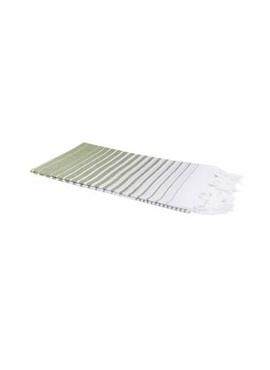 Bedinn 100 X 180 Cm Pamuk Ipliği Yıkanabilir Yakamoz Fıstık I Peştemal Yeşil